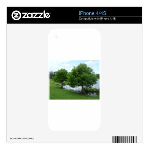 Árboles iPhone 4 Skin