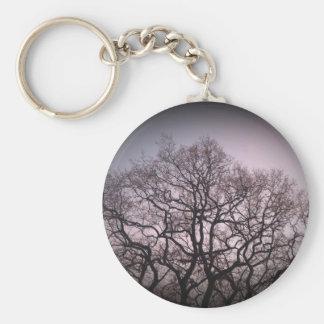 Árboles larguiruchos llavero redondo tipo pin