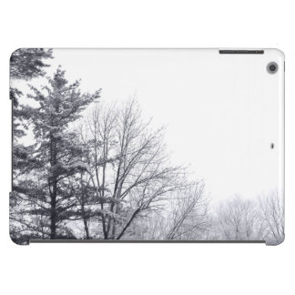 Árboles nevados: Horizontal Funda Para iPad Air