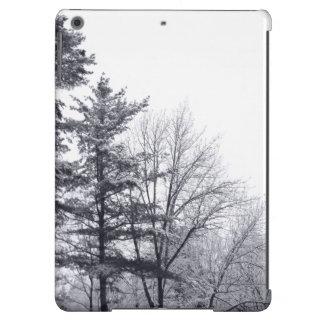 Árboles nevados: Vertical Funda Para iPad Air