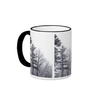 Árboles nevados: Vertical Tazas De Café