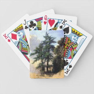 Árboles Newburgh - Durand del estudio de Baraja Cartas De Poker