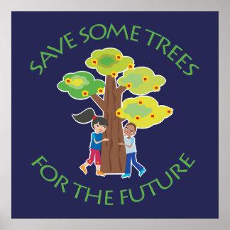 Árboles para el futuro poster