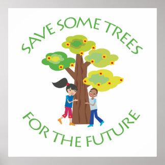 Árboles para el futuro posters
