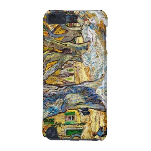 Árboles planos grandes de Vincent van Gogh