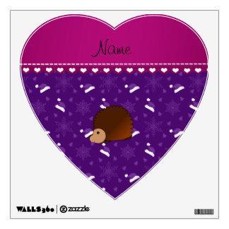 Árboles púrpuras personalizados de los gorras de