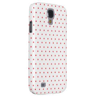 Árboles rojos de Navidad Funda Para Galaxy S4