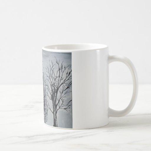 Árboles silenciosos taza