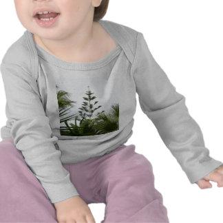 Árboles tropicales camisetas