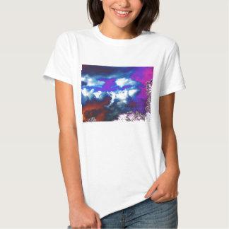 Árboles ultravioletas de Sky&Trippy de la tormenta Playeras