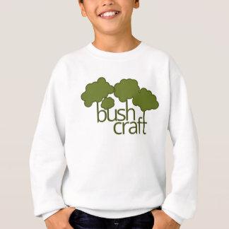 Árboles verdes, arte del arbusto sudadera
