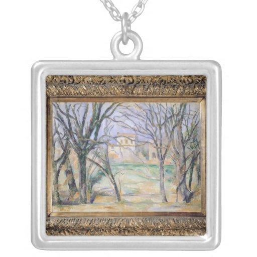 Árboles y casas, 1885-86 collares personalizados