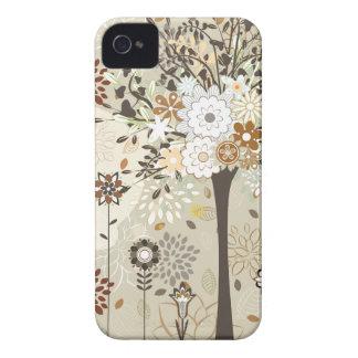 Árboles y caso caprichosos del iphone 4 de las flo