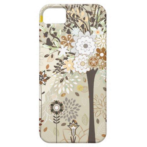 Árboles y caso caprichosos del iphone 5 de las funda para iPhone SE/5/5s