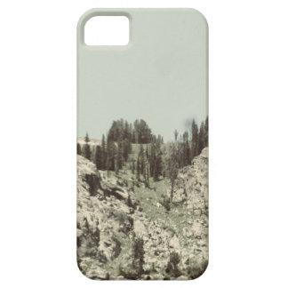 Árboles y colinas iPhone 5 fundas