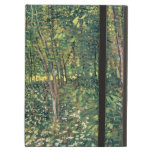 Árboles y maleza, 1887