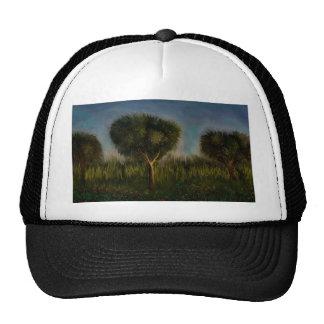 Árboles y paisaje por el rafi talby gorros bordados