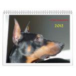 arboozDobermans Calendar 2012