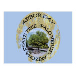 ARBOR DAY ARIZONA POSTCARD