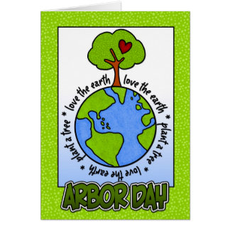 Arbor Day Greeting Card