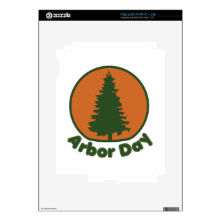 Arbor Day Decals For iPad 2