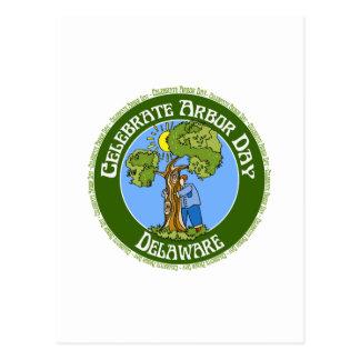 Arbor Day Delaware Postcard