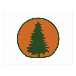 Arbor Day Evergreen Postcard