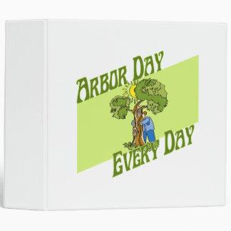 Arbor day every day vinyl binder
