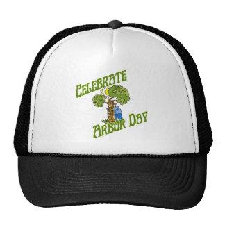 arbor day mesh hat