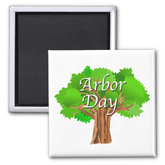 Arbor Day Holiday Magnet
