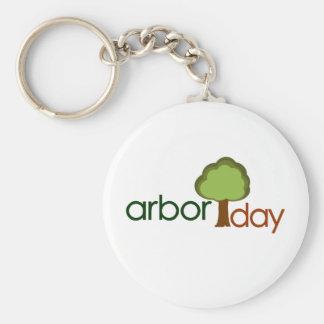 Arbor Day Keychain