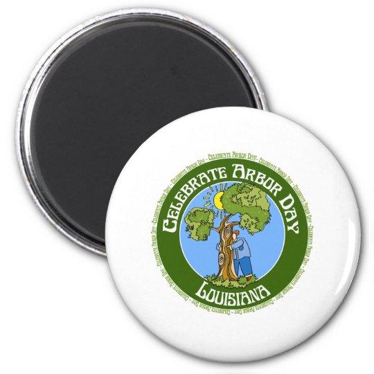 Arbor Day Louisiana Magnet