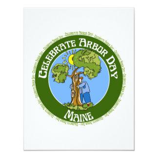 Arbor Day Maine Card