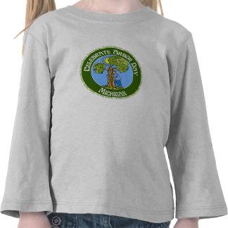 Arbor Day Michigan T Shirts