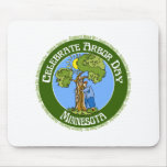Arbor Day Minnesota Mouse Pads