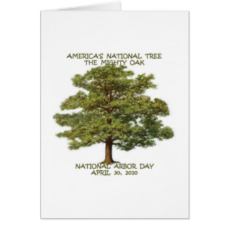 ARBOR DAY NATIONAL GREETING CARD