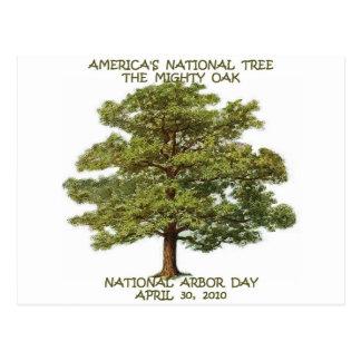 ARBOR DAY NATIONAL POSTCARD