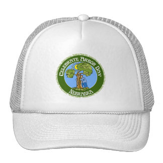 Arbor Day Nebraska Mesh Hat