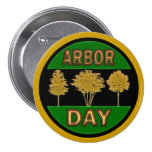Arbor Day Pinback Buttons