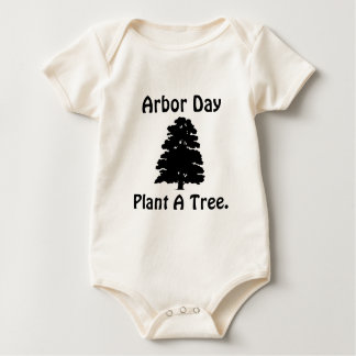 Arbor Day;Plant A tree Baby Bodysuit