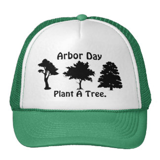 Arbor Day;Plant A tree Mesh Hat