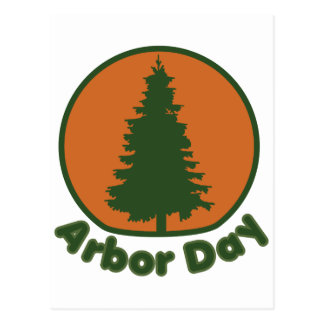 Arbor Day Postcard