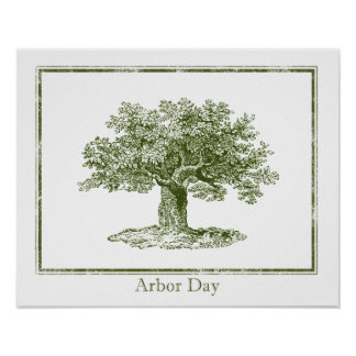 Arbor Day Poster