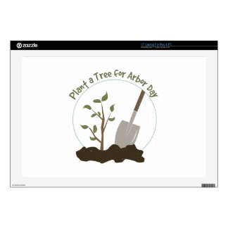 Arbor Day Laptop Decal