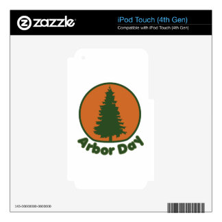 Arbor Day Skins For iPod Touch 4G