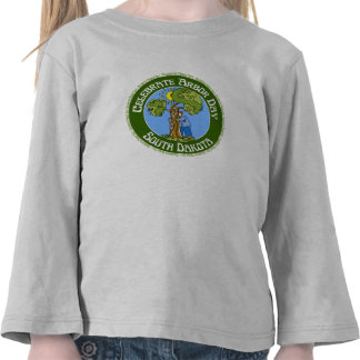 Arbor Day South Dakota Tee Shirt