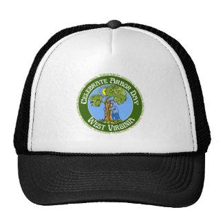 Arbor Day West Virginia Mesh Hats