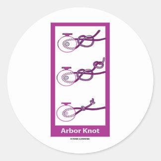 Arbor Knot Sticker