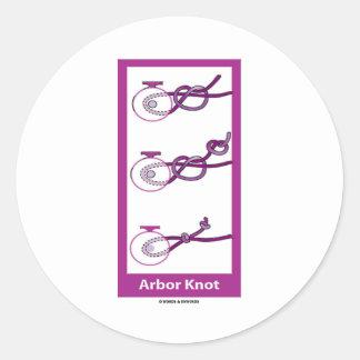 Arbor Knot Stickers