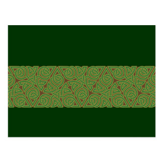 Arboreal Triangle Knot Band Postcard